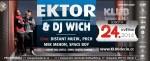 EKTOR & DJ WICH ale i DJ SID v music club KLUB Děčín